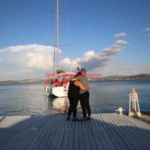 İzmir Deniz Kenarı Evlenme Teklifi
