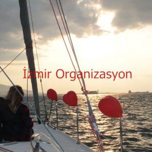 tekneyle evlilik teklifi
