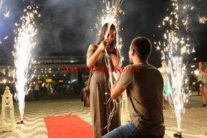 En Güzel Evlilik Teklifi Kordon