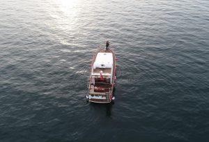 Denizin Ortasında Evlilik Teklifi Organizasyonu