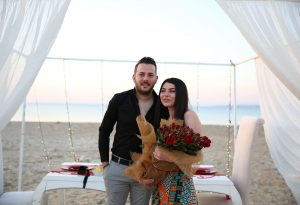 Çeşme'de Evlenme Teklifi Organizasyonu