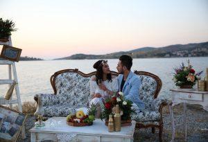 Foça Evlilik Teklifi Organizasyonu