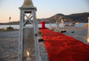 Foça'da Sürpriz Evlilik Teklifi Organizasyonu