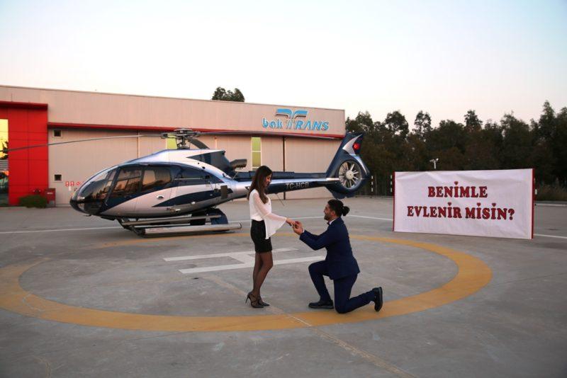 Helikopter Evlilik Teklifi Organizasyonu İle İlgili Öneriler İzmir Organizasyon