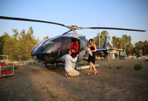 Helikopterle Evlilik Teklifi Organizasyonu