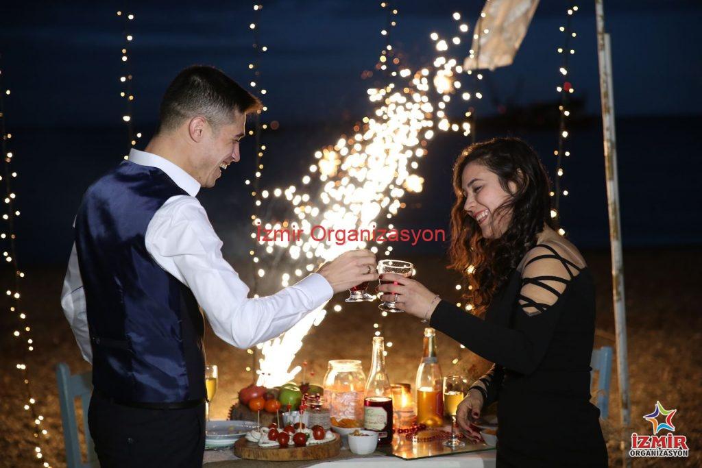 Kadırga Koyu'nda Evlenme Teklifi Organizasyonu