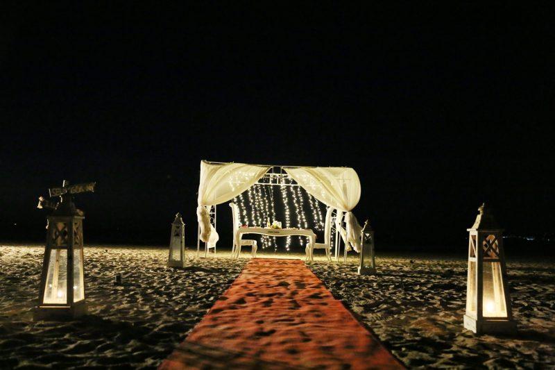 kumsalda müthiş evlilik teklifi organizasyonu