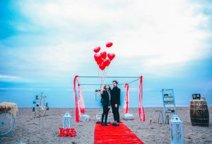 Kumsalda Evlilik Teklifi Organizasyon