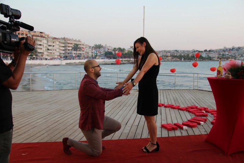 Sürpriz Evlenme Teklifi Organizasyonu