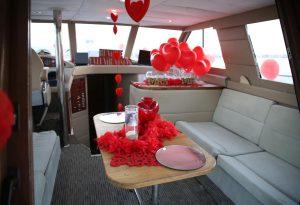 Teknede Evlenme Teklifi Organizasyonu
